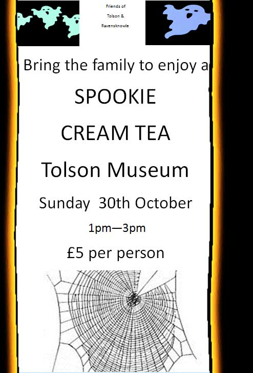 Spookie Cream Tea